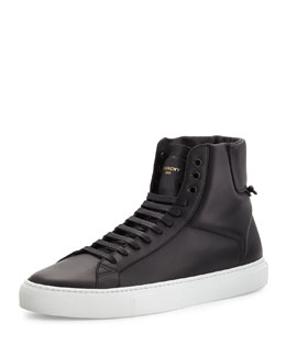 Urban Street High-Top Sneaker, Black