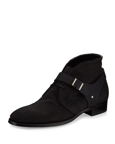 Tonal Harness Boot, Black