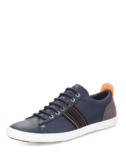 Osmo Galaxy Leather Sneaker, Blue