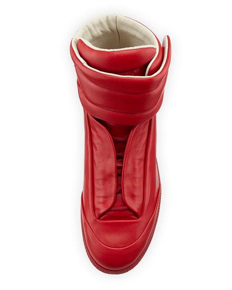 Men's Future High-Top Sneakers, Red