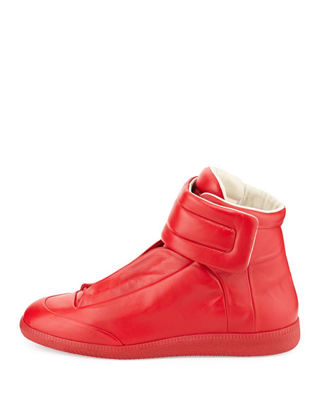 Future High-Top Sneaker, Red