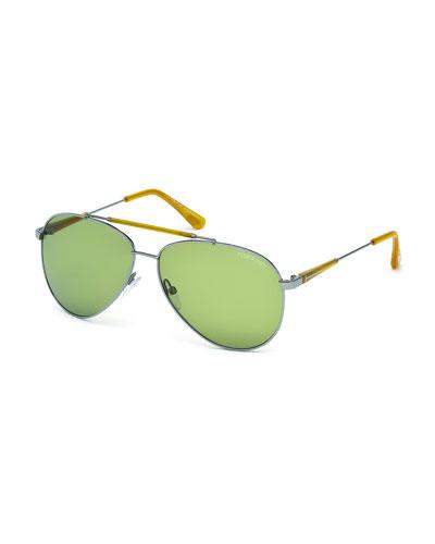 Rick Round Aviator Sunglasses