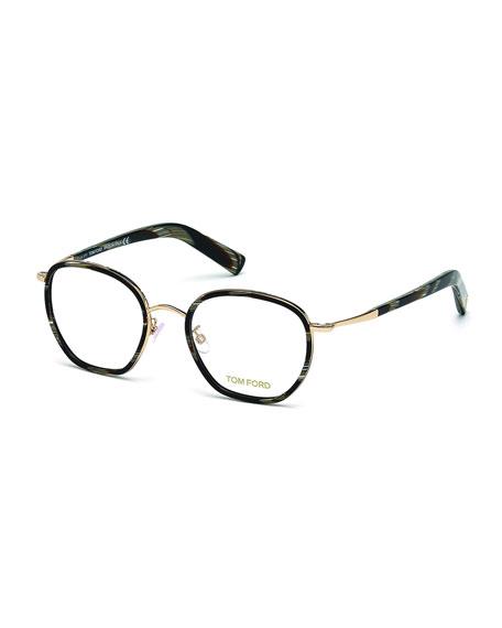 df157c08d5a2 TOM FORD Acetate Metal Eyeglasses