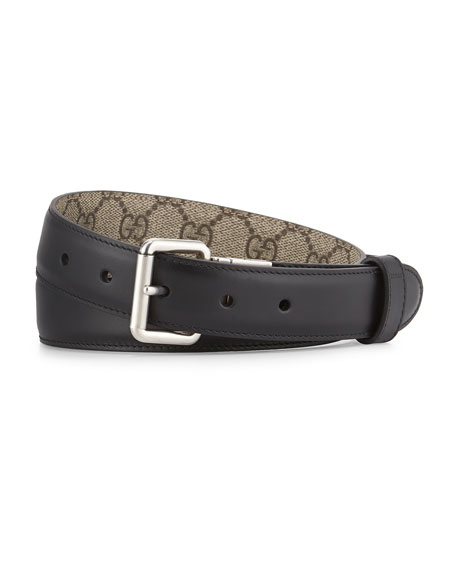 GG Monogram Reversible Belt
