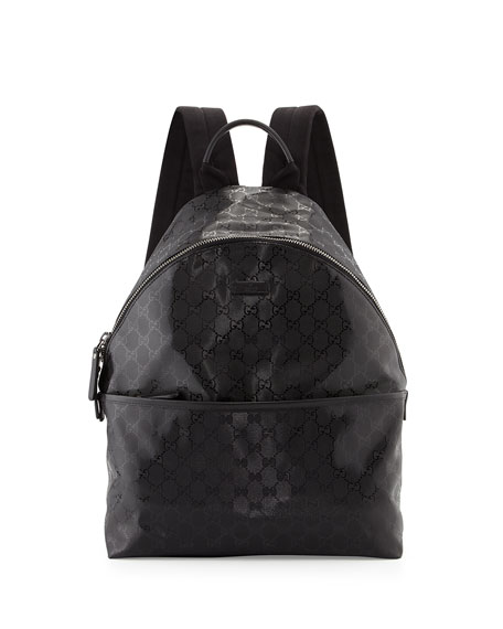 Gucci Men s GG Imprime Backpack 88553c7d0aaf2
