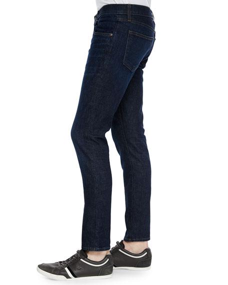 Mick Five-Pocket Dark Wash Jeans, Denim