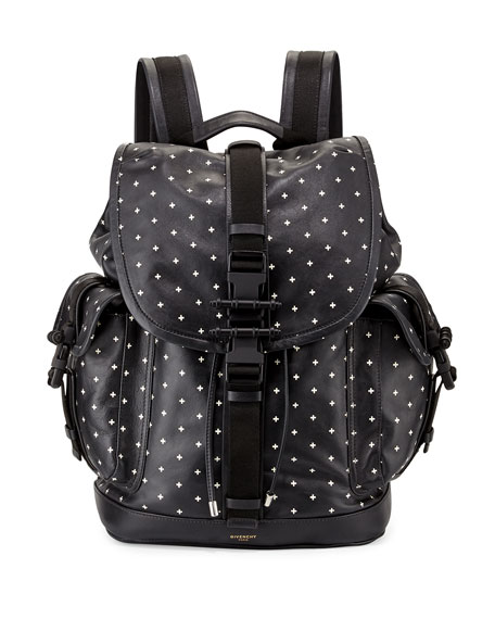710aff80fe4f Givenchy Men s Cross-Print Leather Backpack