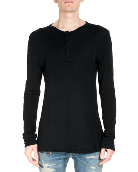 balmain long sleeve shirt