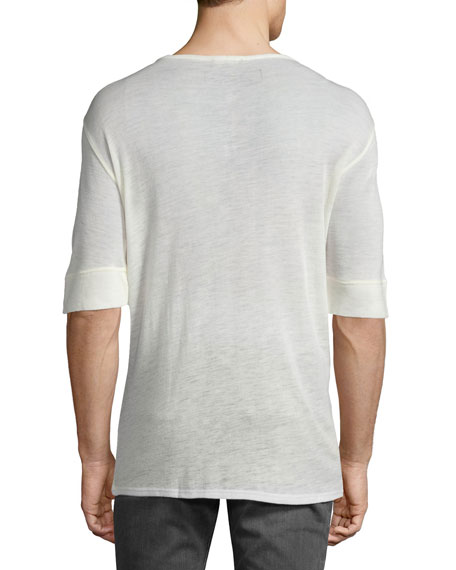 Lightweight Wool Henley