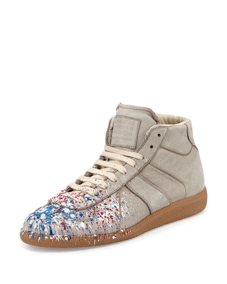 Maison MargielaReplica paint design sneakers