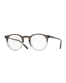 O'Malley 45mm Fashion Glasses, Gray Fade
