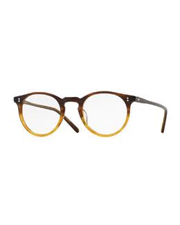 O'Malley 45mm Fashion Glasses, Brown Fade