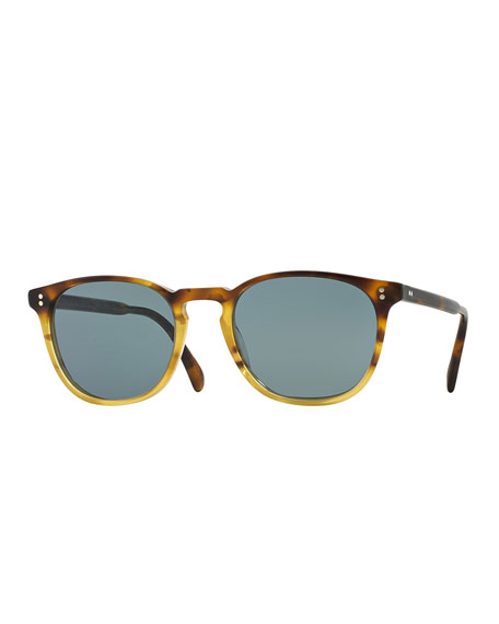 Oliver Peoples Finley Esq. 51 Acetate Sunglasses, Brown