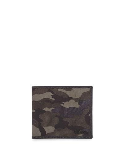 Camouflage Bi-Fold Wallet