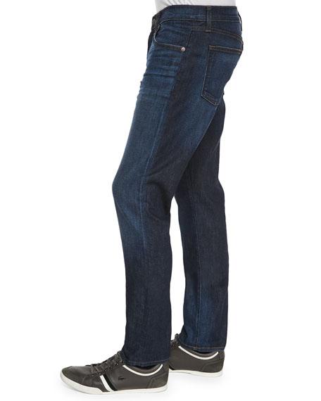 Tyler Revelled Slim-Fit Denim Jeans, Indigo