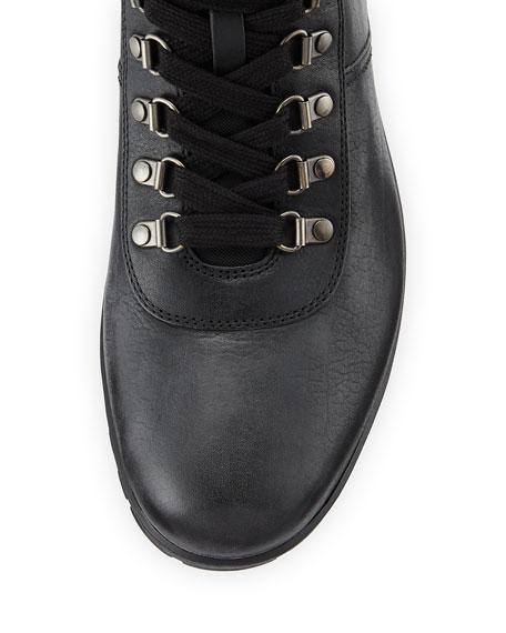 c84a4bade912 Prada Lugged Leather Hiking Boots