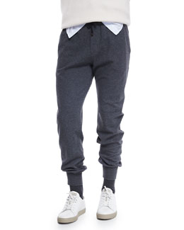 Lead Knit Spa Pants, Gray