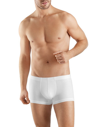 Sea Island Cotton Boxer Briefs, White