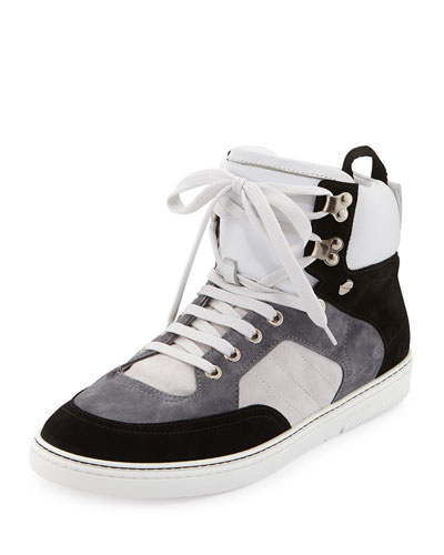 Bradley Men's Colorblock High-Top Sneaker