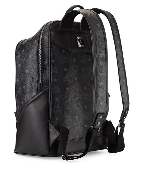 Duke Visetos Canvas Backpack, Black
