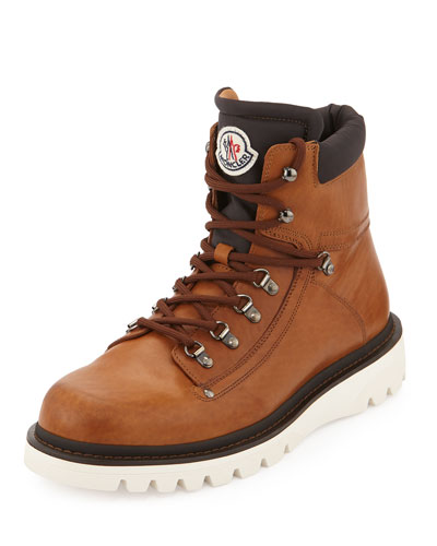 Egide Leather Hiker Boot, Brown