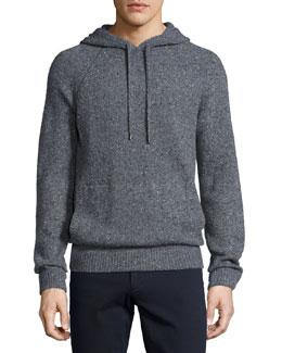Donegal Hoodie Sweatshirt, Charcoal