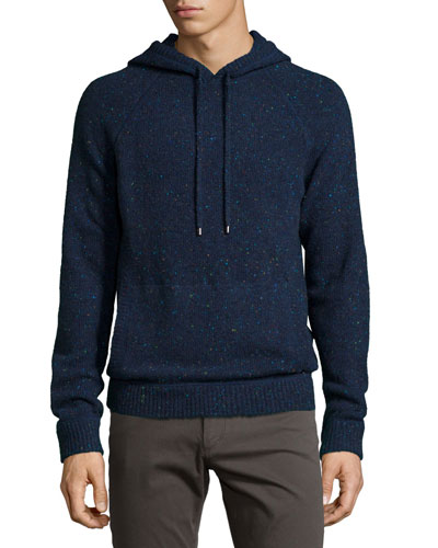 Donegal Hoodie Sweatshirt, Navy