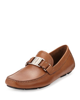 Vara Leather Driver, Brown