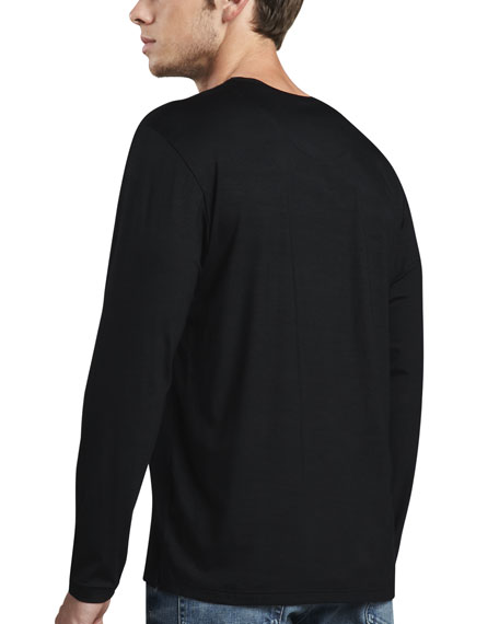 Basel 1 Long-Sleeve Jersey T-Shirt, Black