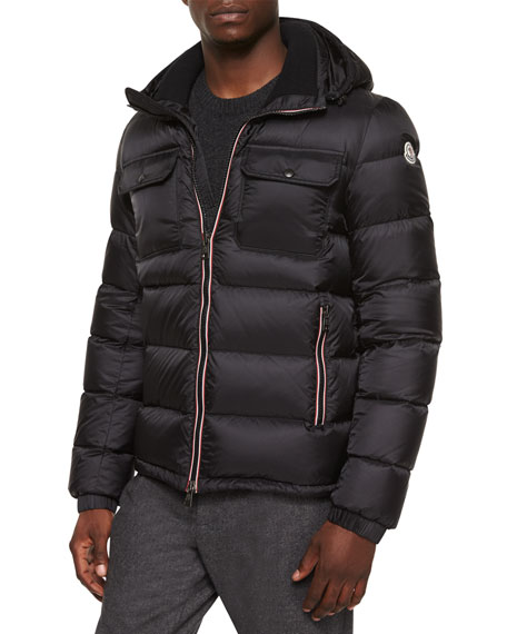 1ae7fa431 Demar Quilted Puffer Jacket Black