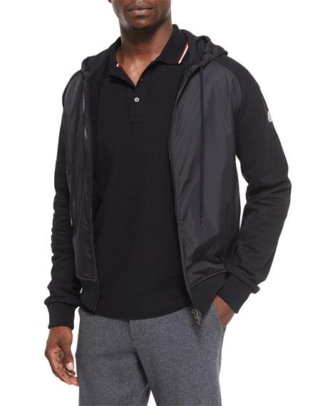 moncler hoodie zip