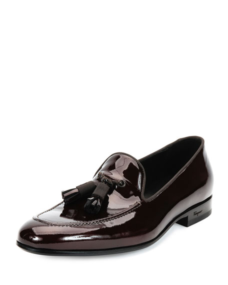 Salvatore Ferragamo Patent Leather Tassel Loafers fast delivery sale online cheap extremely free shipping purchase sNrQV5Igm5