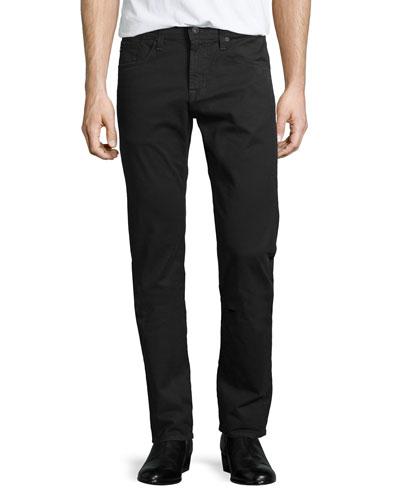 Matchbox Five-Pocket Twill Jeans, Gray