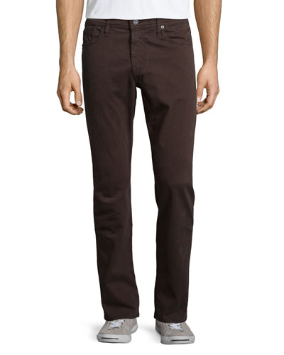 Graduate Bitter Chocolate Sud Jeans, Brown