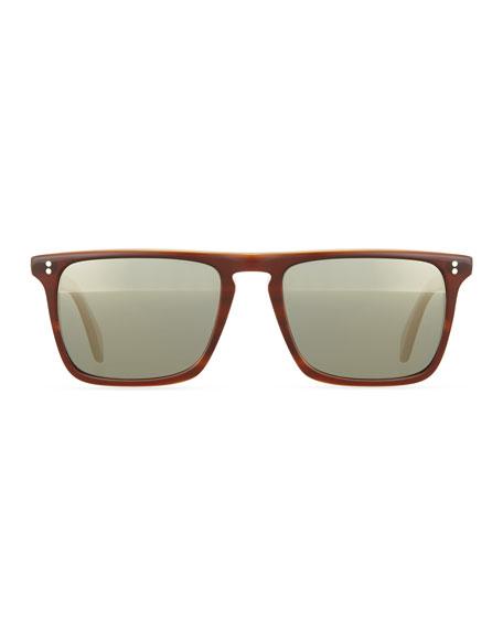 Bernardo 54 Polarized Sunglasses, Brown