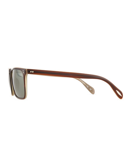 Bernardo 54 Polarized Sunglasses, Brown