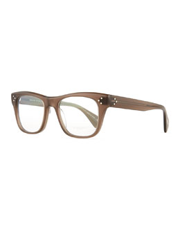 Jack Huston 52 Fashion Glasses, Taupe