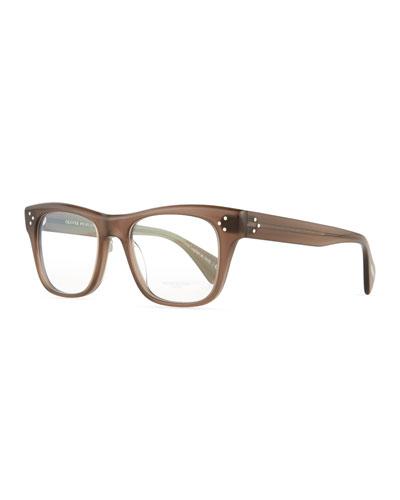 Jack Huston 52 Fashion Glasses, Taupe