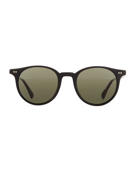 Delray Sun 48 Polarized Sunglasses, Black