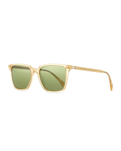 OPLL Sun 53 Polarized Sunglasses, Gold