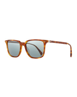 OPLL Sun 53 Photochromic Sunglasses, Light Brown