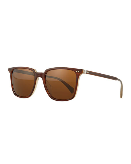 OPLL Sun 53 Polarized Sunglasses, Brown