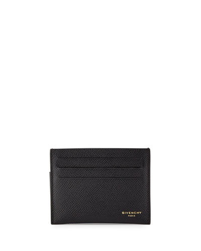 Leather Card Case, Black