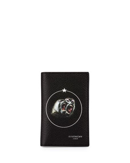 Monkey Brothers Card Case, Black