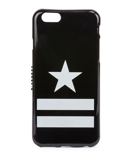 Star & Stripes iPhone® 6 Case, Black