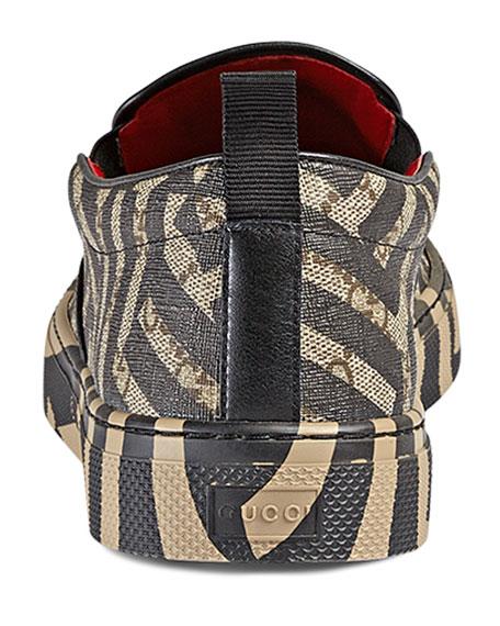 06ce9852f Gucci Dublin GG Caleido Canvas Slip-On Sneaker, Brown