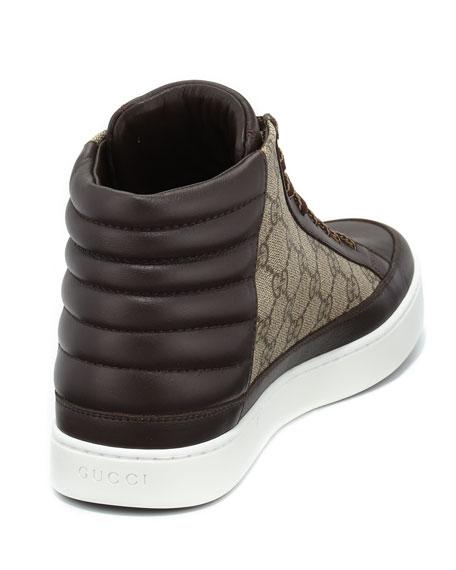 040d6e8f68f Gucci GG Supreme Canvas High-Top Sneaker
