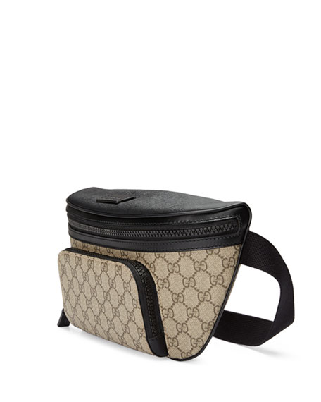 Eden GG Supreme Belt Bag, Beige