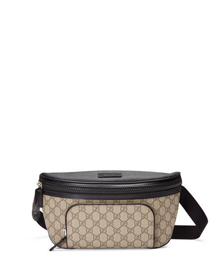 c5d6e641c37c Gucci Belt Bag With Rubber Logo 529428 Black | Stanford Center for ...
