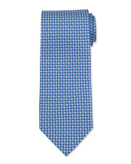 Vara-Printed Silk Tie